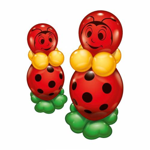 Karaloon Ballonset Glückskäfer, 2 Stück