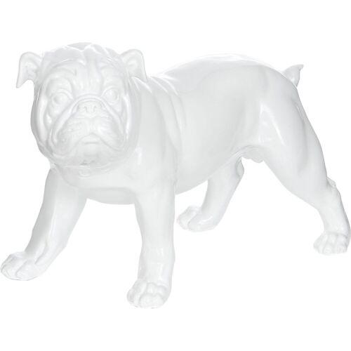 Kayoom Dekofigur »Bulldoge«, weiß