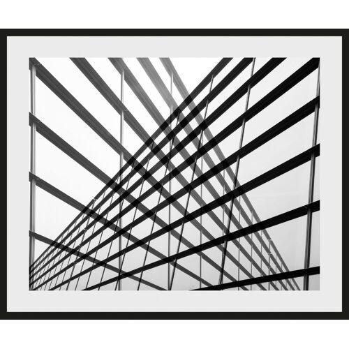 Places of Style Bild »Stahlkonstrukt«, mit Rahmen