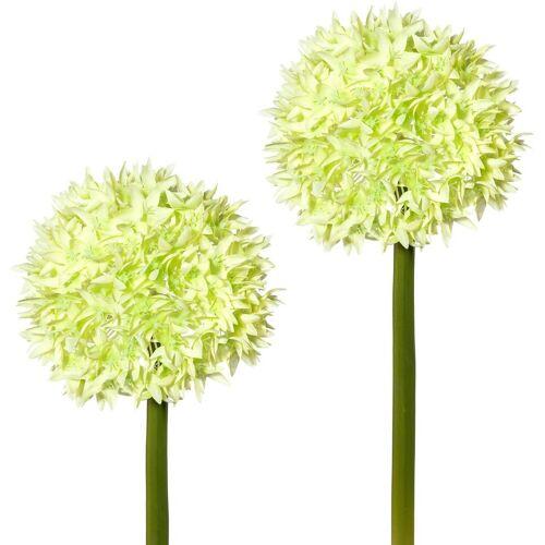 Creativ green Kunstblume Kunstblume, , Höhe 65 cm, (2er Set), grün