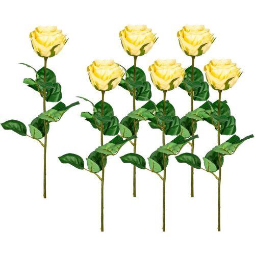 Creativ green Kunstblume Kunstblume, , Höhe 69 cm, gelb