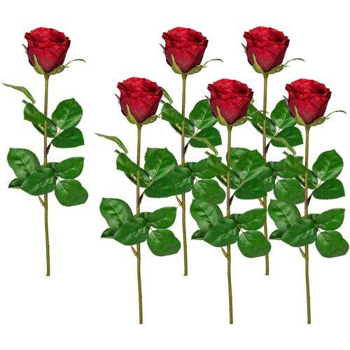 Creativ green Kunstblume Kunstblume, , Höhe 69 cm, rot