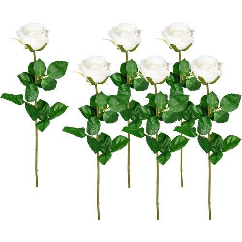 Creativ green Kunstblume Kunstblume, , Höhe 69 cm, weiß