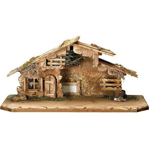 ULPE WOODART Krippe »Südtirol«, Handarbeit, hochwertige Holzschnitzkunst