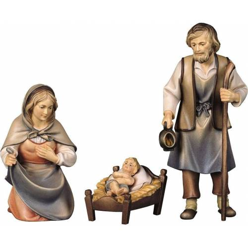 ULPE WOODART Krippenfigur »Hl. Familie« (Set, 3 Stück), Handarbeit, hochwertige Holzschnitzkunst
