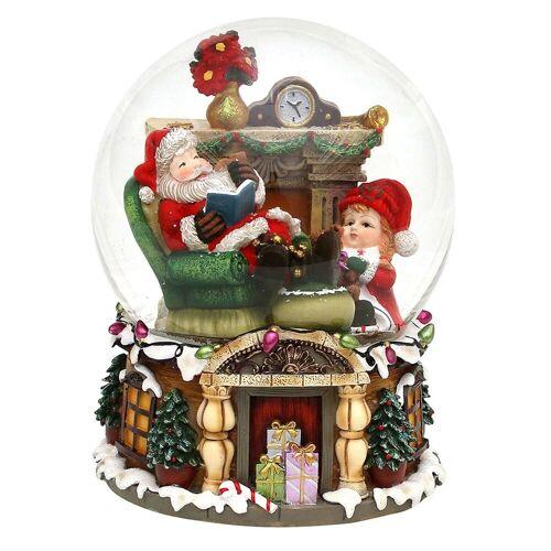 SIGRO Schneekugel »Schneekugel XXL Santa«