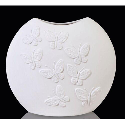 Kaiser Porzellan Tischvase »Papillon« (1 Stück), aus Biskuitporzellan
