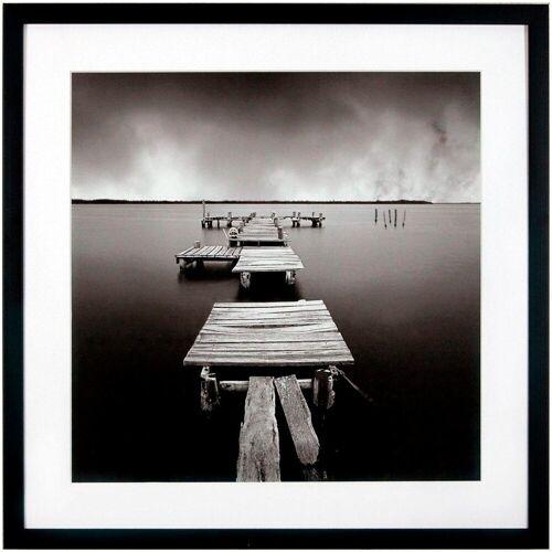 G&C Kunstdruck »Levy: Beach Motiv 3«, 50/50 cm, gerahmt