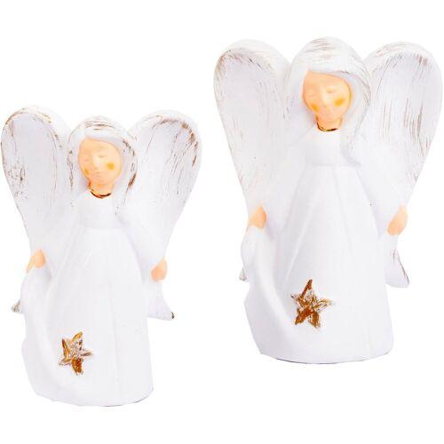 VALENTINO Wohnideen Engelfigur »Engel Martha« (Set, 2 Stück)