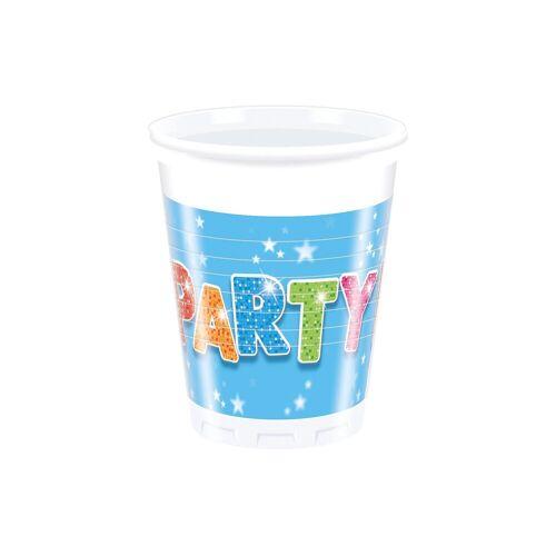 Procos Partybecher Fabulous Party 200 ml, 8 Stück