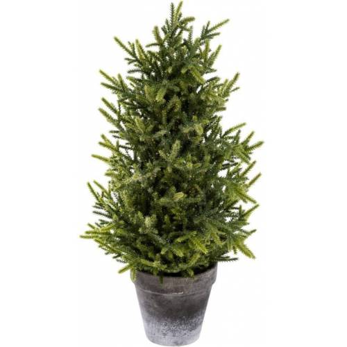 Kunstbaum »Tannenbäumchen«, Höhe 50 cm, Glitter, Höhe 50 cm