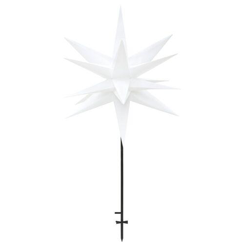 LED Stern »3D-Optik«, mit Erdspieß