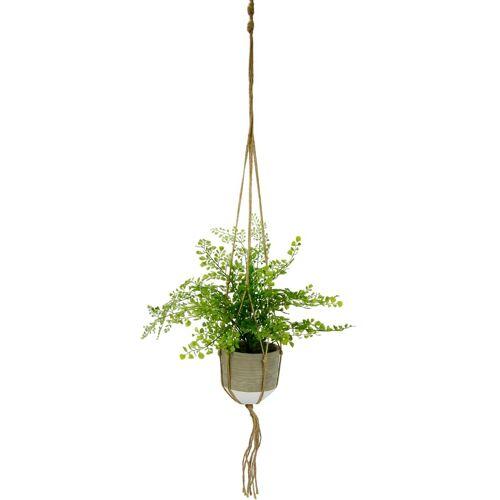 I.GE.A. Kunstpflanze »Frauenhaar« Frauenhaar, , Höhe 40 cm, in Hängeampel