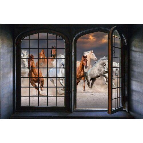 queence Wandsticker »Pferde«