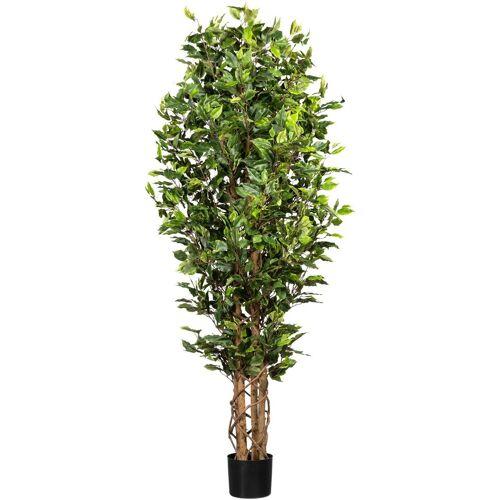 Creativ green Kunstbaum »Ficus Benjamini« Ficus Benjamini, , Höhe 180 cm