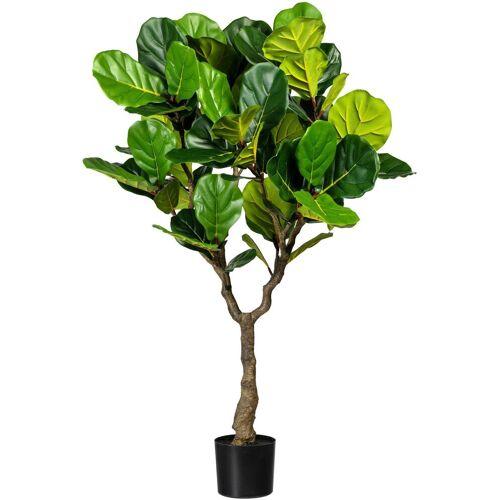 Creativ green Kunstbaum »Ficus lyrata« Ficus lyrata, , Höhe 150 cm