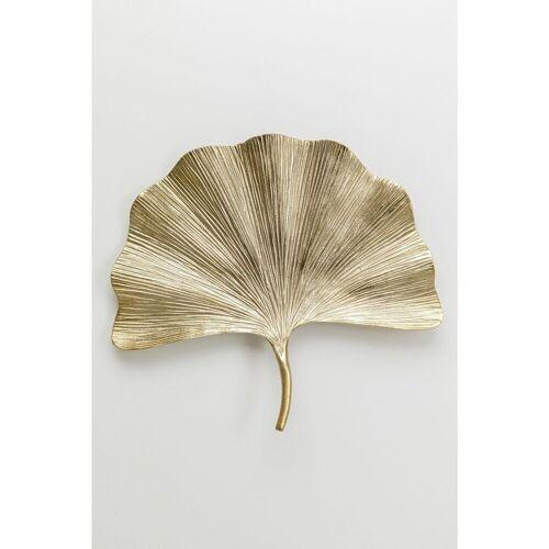 KARE Wanddekoobjekt »Wandschmuck Ginkgo Leaf 44cm«