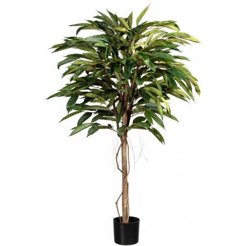 Creativ green Kunstbaum »Ficus Alii de Luxe« Ficus Alii de Luxe, , Höhe 150 cm