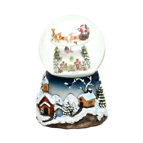 SIGRO Schneekugel »Schneekugel Rentierschlitten«