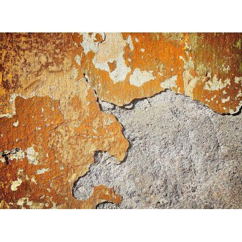living walls Fototapete »Beton Vintage«, glatt, (1 St), 350 x 255 cm