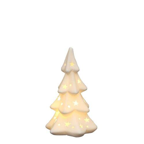 SIGRO Windlicht »Porzellan Windlicht Weihnachtsbaum«
