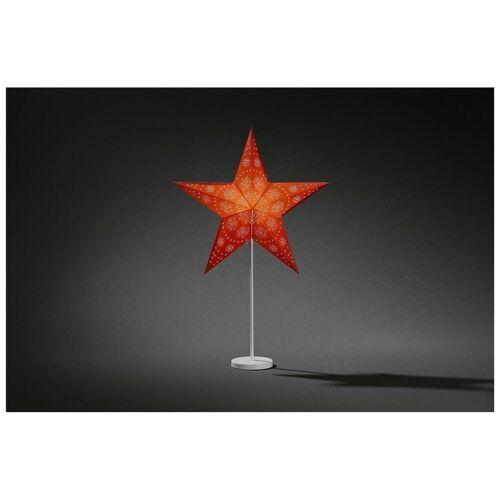 KONSTSMIDE Papiersterne »2991-520 Papierstern mit Fuß rot«