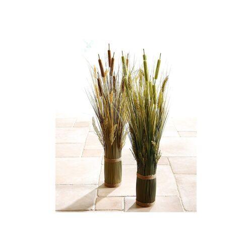 I.GE.A. Kunstpflanze »Grasarrangement« Gras, , Höhe 80 cm, grün