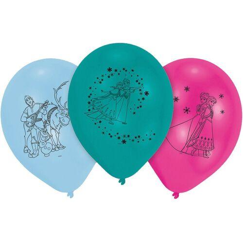 Amscan Luftballon »Luftballon Eiskönigin, 10 Stück«