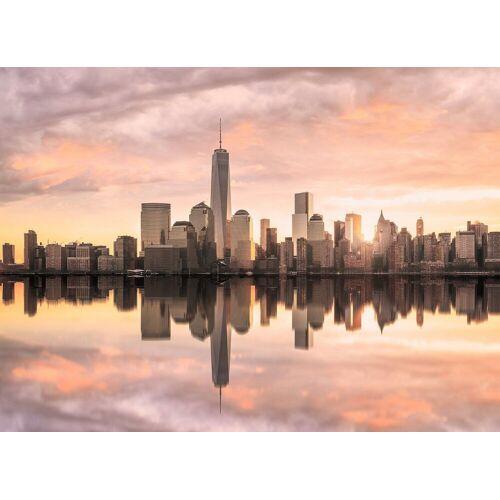 living walls Fototapete »Designwalls Skyline New York 2«, glatt, (5 St)