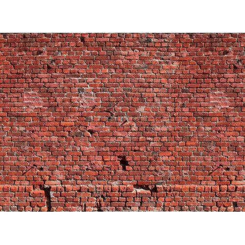 living walls Fototapete »Klinker Backstein«, glatt, (1 St), 350 x 255 cm