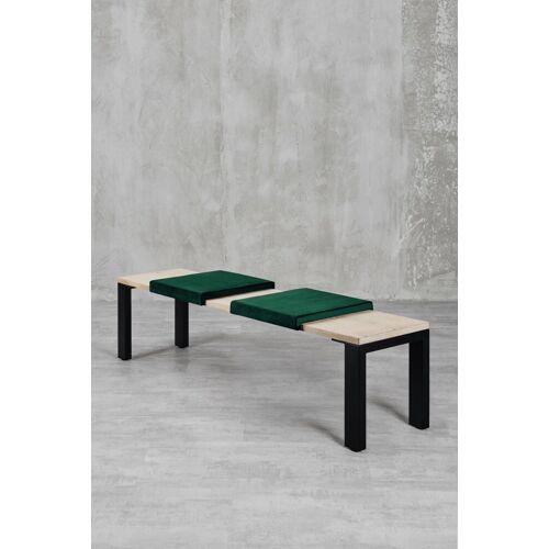 carla&marge Sitzkissen, Sitzkissen Sense (2er Set), Jangle Green