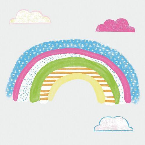 RoomMates Wandsticker »Wandsticker, Pattern Rainbow«