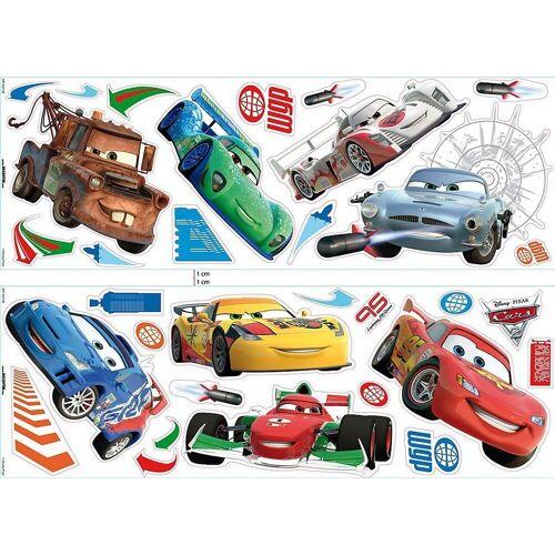 Decofun Wandsticker »Wandsticker Cars 2, 32-tlg.«