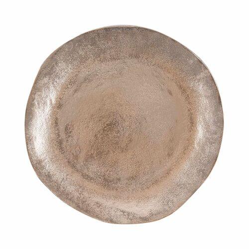 BUTLERS Dekoteller »BANQUET Dekoteller organisch Ø32cm«, Bronze