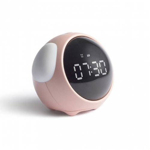 Gotui Wecker »LED Wecker« Mini Nachtlichtuhr,Kindergeschenk,Rosa