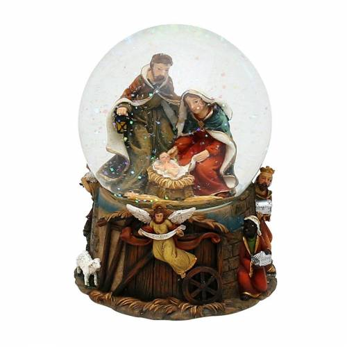 SIGRO Schneekugel »Schneekugel Heilige Familie«