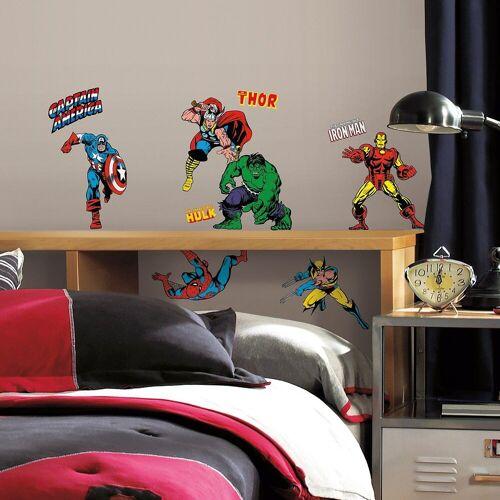 RoomMates Wandsticker »Wandsticker Marvel, Classic, 32-tlg.«