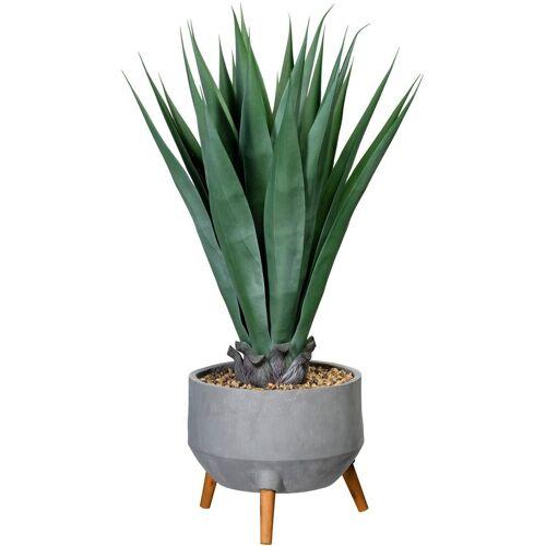 Creativ green Künstliche Zimmerpflanze »Agave« Agave, , Höhe 100 cm, in Fibreclayschale