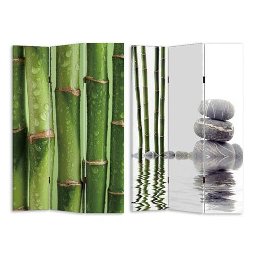 HTI-Line Paravent »Paravent Bambus 2«, Nur für den Innenbereich geeignet