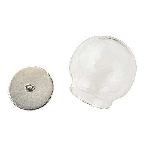 VBS Anhänger Set »Glaskugel« (2-tlg), 2-teilig 30 mm