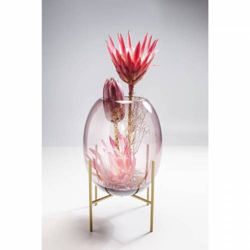 KARE Dekovase »Vase Stilt Lila 37cm«