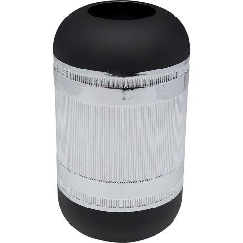 KARE Dekovase »Vase Cap Silber 30cm«