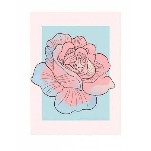 Komar XXL Poster »Cinderella Rose«, bunt