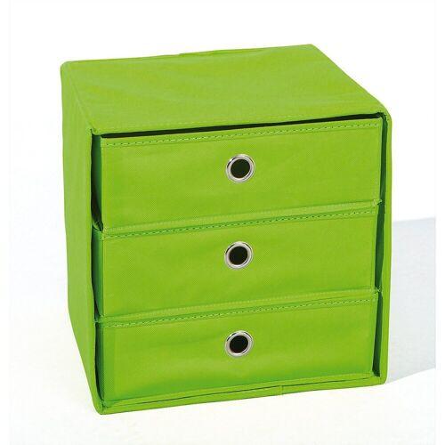 Inter Link Aufbewahrungsbox »Aufbewahrungsbox, grün/grau«, grün
