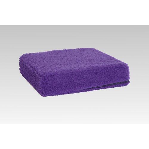 Licardo Sitzkissen »Sitzkissen Sitzerhöhung Wolle lila 40/40/10 cm«