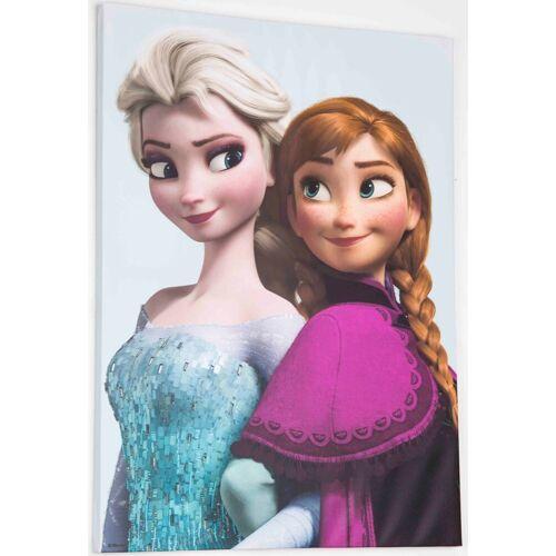 Disney Leinwandbild »Frozen Elsa & Anna«, (1 Stück)