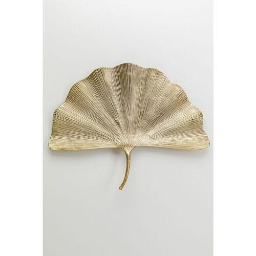 KARE Wanddekoobjekt »Wandschmuck Ginkgo Leaf 59cm«