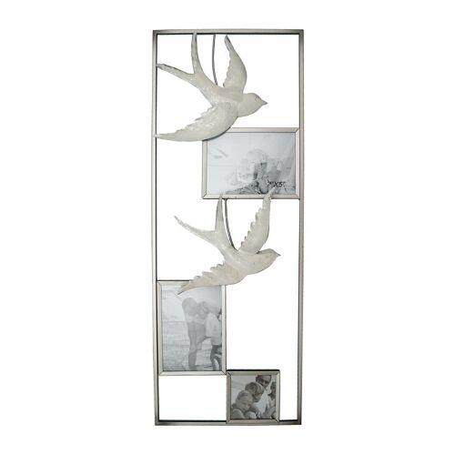 NTK-Collection Wanddekoobjekt »Wanddeko Bilderrahmen mit Schwalben«