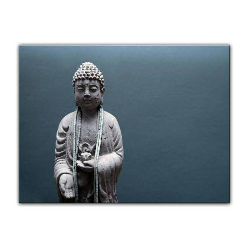 Bilderdepot24 Leinwandbild, Leinwandbild - Buddha VI