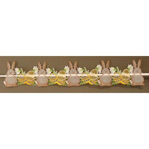 Stickereien Plauen Fensterbild »Osterhasen«